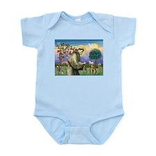 St Francis & Border T Infant Bodysuit