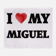 I love my Miguel Throw Blanket