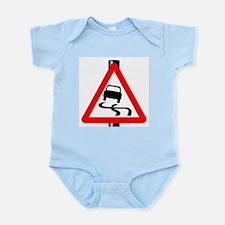 Danger SkiddingTraffic Sign Body Suit