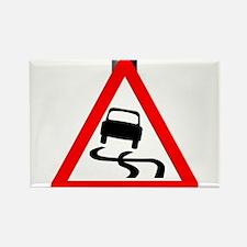 Danger SkiddingTraffic Sign Magnets