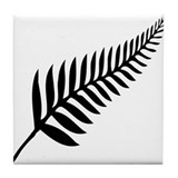 New zealand silver fern Drink Coasters