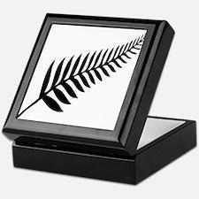 Silver Fern of New Zealand Keepsake Box