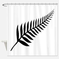 Silver Fern of New Zealand Shower Curtain