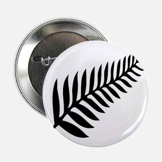 "Silver Fern of New Zealand 2.25"" Button"