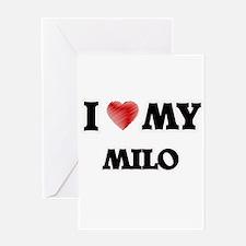 I love my Milo Greeting Cards