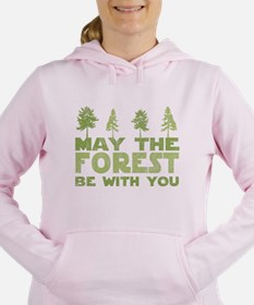 Funny Environmental Women's Hooded Sweatshirt