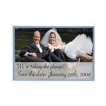 Save the Date 3 Rectangle Magnet (10 pack)