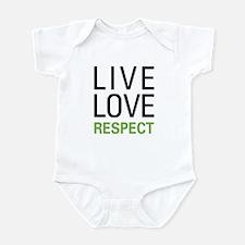 Live Love Respect Infant Bodysuit