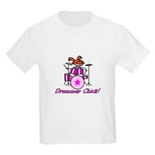 Drummer Chick T-Shirt