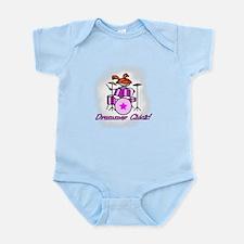 Drummer Chick Infant Bodysuit