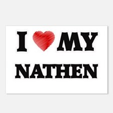 I love my Nathen Postcards (Package of 8)