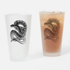 Cute Rattlesnake Drinking Glass