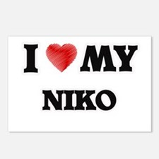 I love my Niko Postcards (Package of 8)