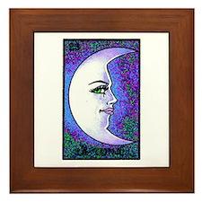 La Luna Framed Tile