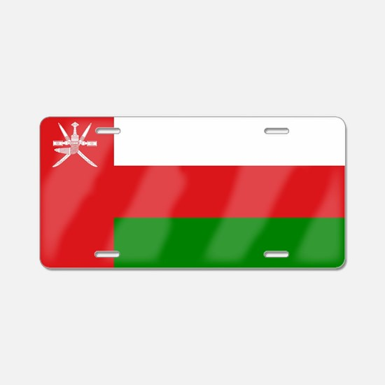 Flag of Oman Aluminum License Plate