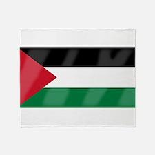 Flag of Palestine Throw Blanket