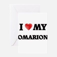 I love my Omarion Greeting Cards