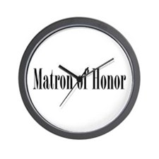 Matron Of Honor 01 Wall Clock