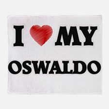 I love my Oswaldo Throw Blanket