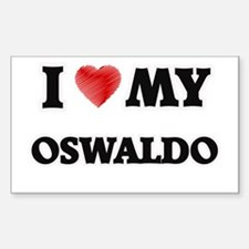 I love my Oswaldo Decal