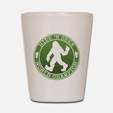 Funny Cryptozoology Shot Glass