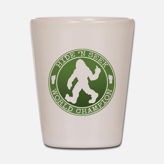 Cute Bigfoot Shot Glass
