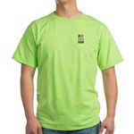 Obama / Clinton 2008 Green T-Shirt