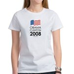 Obama / Clinton 2008 Women's T-Shirt