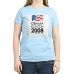 Obama / Clinton 2008 Women's Light T-Shirt