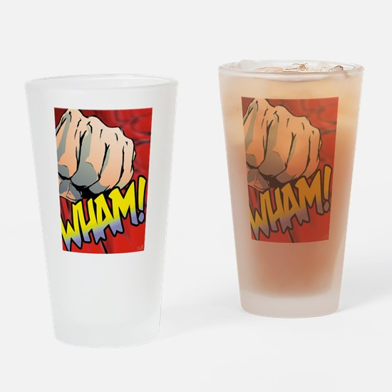 Wham Red Drinking Glass