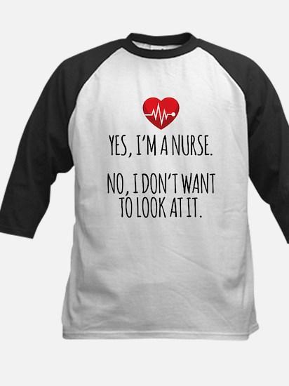 Yes I'm a Nurse Baseball Jersey