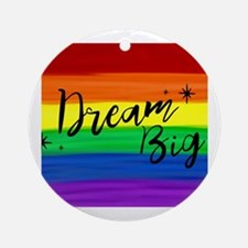 Unique Gay rights Round Ornament