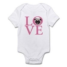 Love Pug - Infant Bodysuit