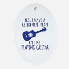 Cute Retirement ideas Oval Ornament