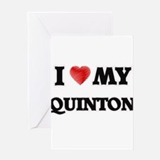 I love my Quinton Greeting Cards