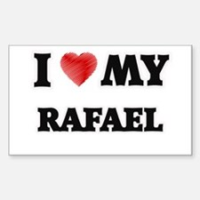 I love my Rafael Decal