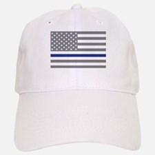 Thin Blue Line Baseball Baseball Cap
