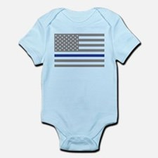 Thin Blue Line Body Suit