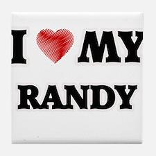 I love my Randy Tile Coaster