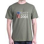 Clinton / Obama 2008 Dark T-Shirt