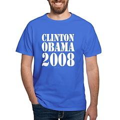 Clinton / Obama 2008 T-Shirt