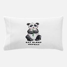 Panda repeat Pillow Case