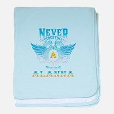 Never underestimate the power of alan baby blanket