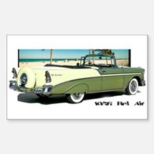 '56 Ragtop Times Rectangle Decal