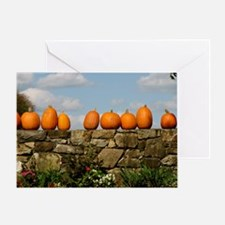 Pumpkins on Parade Greeting Card
