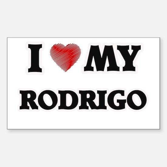 I love my Rodrigo Decal