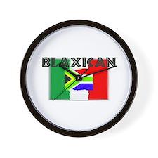 blaxicans Wall Clock
