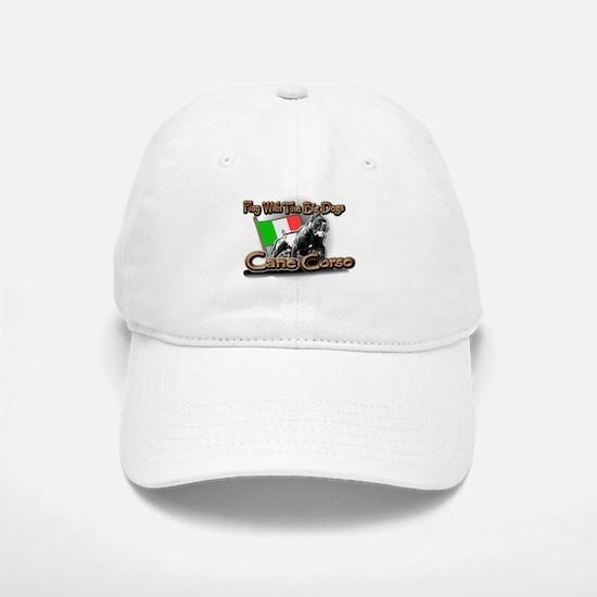Play Cane Corso Baseball Baseball Cap