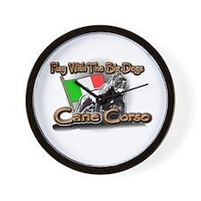 Play Cane Corso Wall Clock