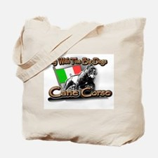 Play Cane Corso Tote Bag
